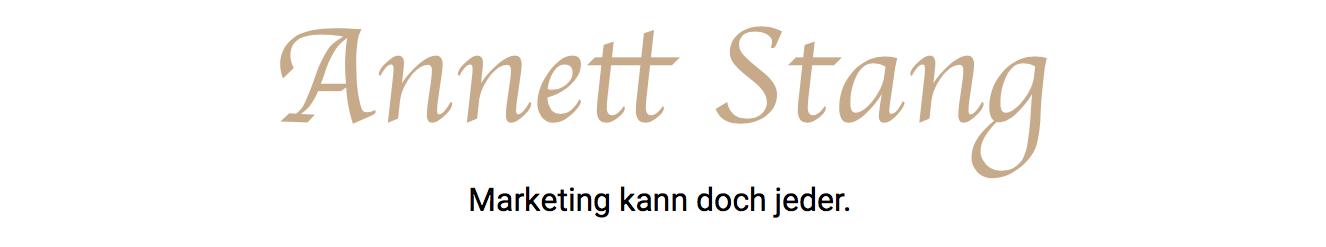 Annett Stang